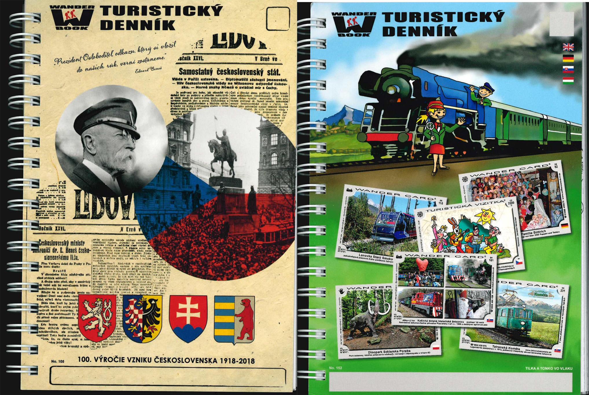 Obrázok Turistický denník